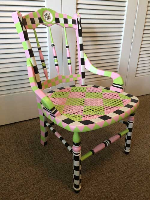 Creative Furniture Finishing class -girls-chair