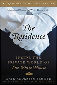 TheResidence by Kate Anderson Brower - part of the CCC Book Club Selection
