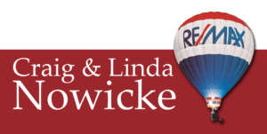 Craig and Linda Nowicke ReMax w Balloon png