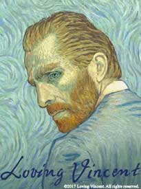 Loving Vincent movie graphic