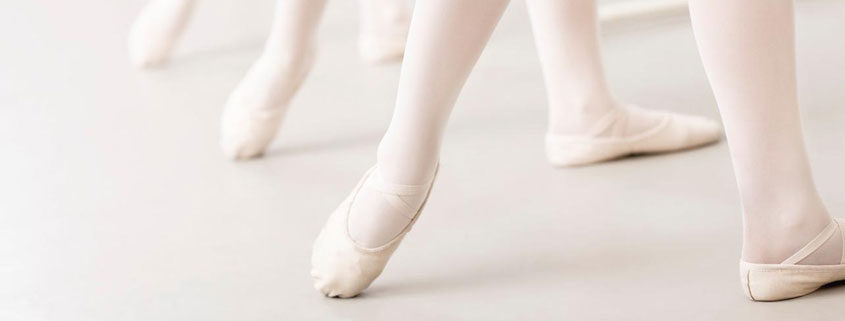 Ballet Slippers - Dance Classes - 845x321