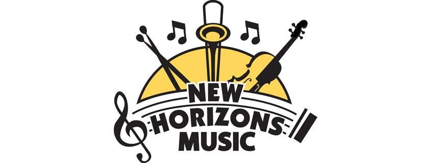New Horizons Music Band logo - 845x321