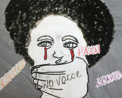 2018 Domestic Violence Awareness Art Gallery Exhibit