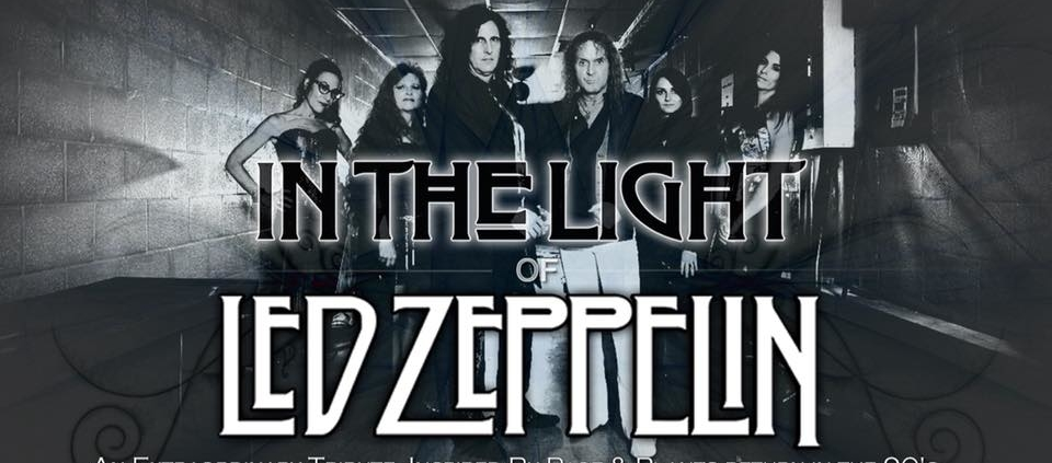 In the Light of Led Zeppelin bw with logo