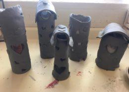 Alexis Arrazcaeta, pottery teacher work