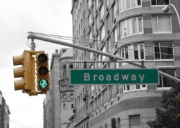 Broadway Sign - Theater