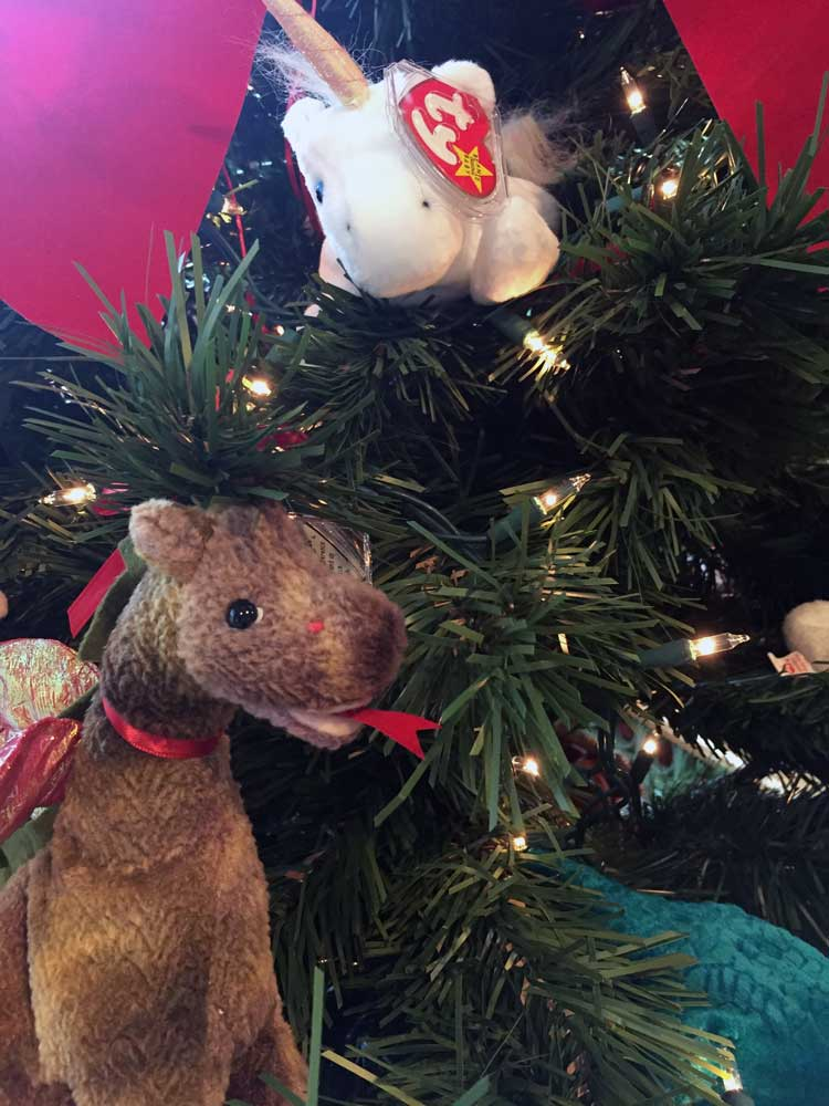Christmas Point Baxter.Tree Display Auction Carrollwood Cultural Center