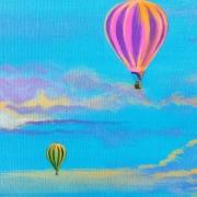 """Skyscape I Detail B"" by Sydney Millett"