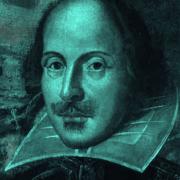 William Shakespeare-teal-8-10