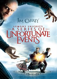 Lemony Snicket A Series of Unfortunate Events event poster