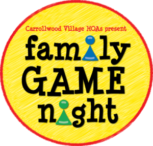 FAMILY GAME NIGHT @ Carrollwood Cultural Center (Community Room)