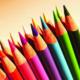 Colored Pencils - 1inSquare