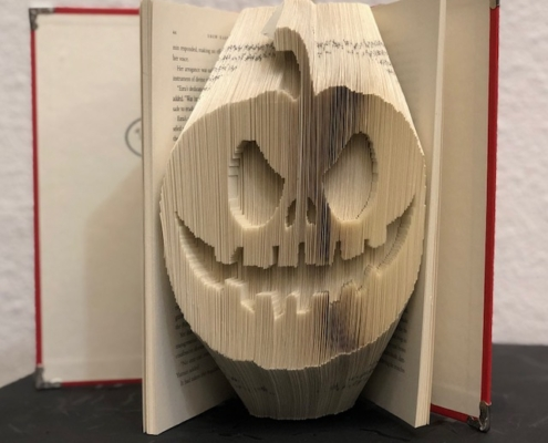 Artwork by Lauren Dykes Dilly Dally Custom Book Folding