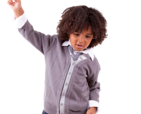 Boy Dancing - shutterstock_106413485