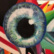 """""""Abstract Eye"""" by Hayley Marshall"""