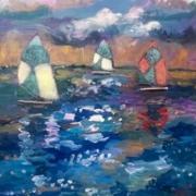 Floating Vessels Art