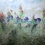 Field of Flowers by Hedy Isen