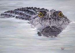 """""""Friend Gator"""" by Bibzi Priori"""