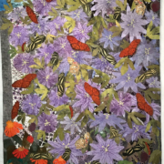 """""""Flowers with Butterflies"""" by Susan Lumsden"""
