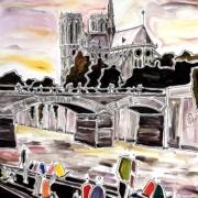 Les Berges de Seine by Patricia Klewe Derderian