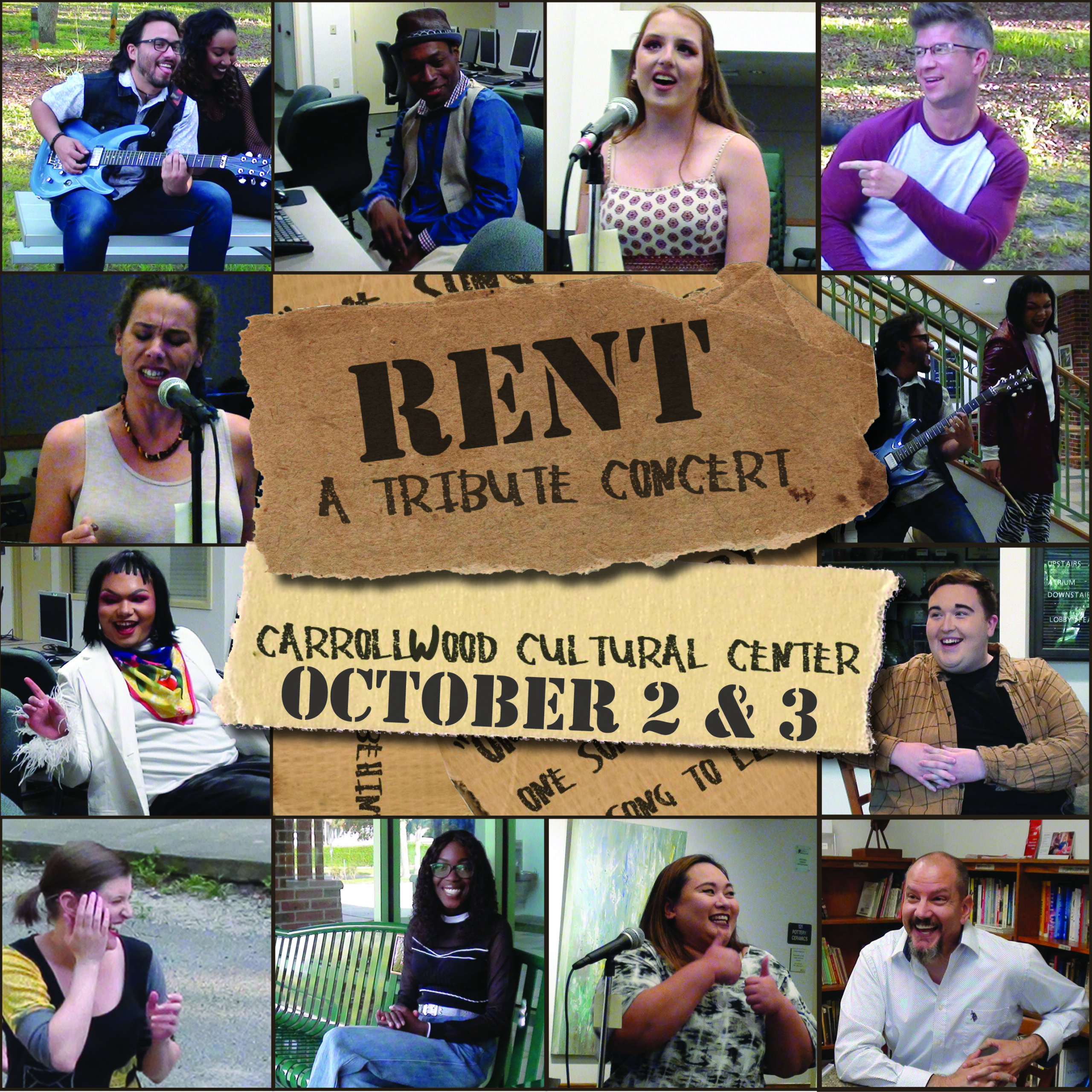 RENT:A Tribute Concert October 2&3