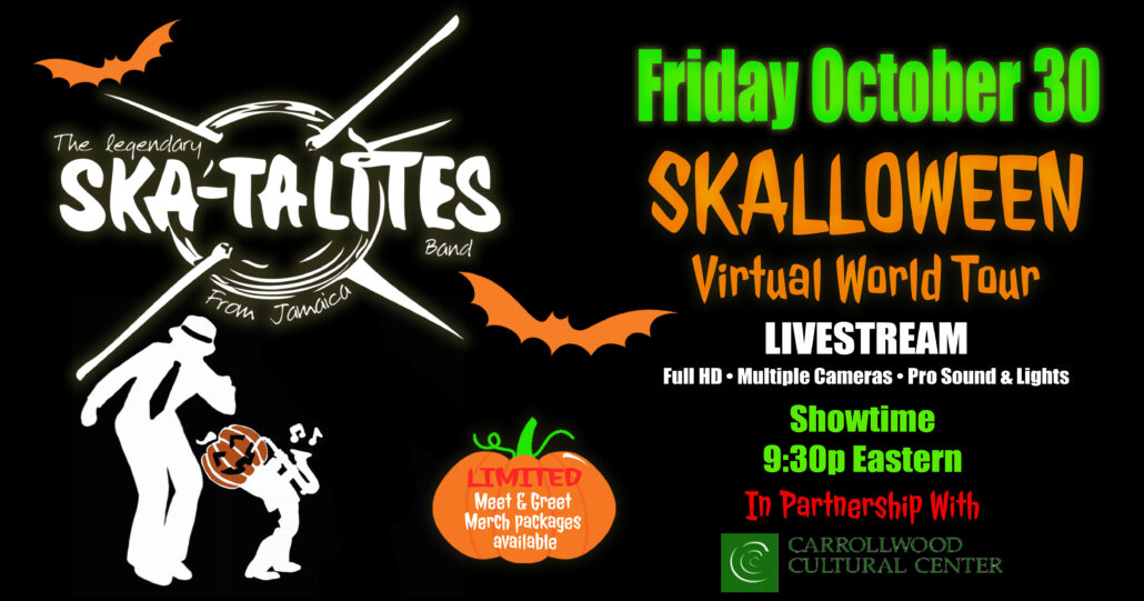 "The Skatalites ""Skalloween"" Worldwide Virtual Tour (Virtual Event) @ Sony Hall in NYC"
